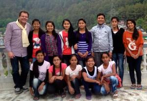 Michael zu Besuch in Nepal, April 2013